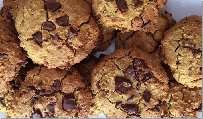 Cookies vegan et sans gluten