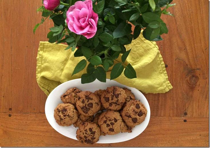 cookies vegan, sans gluten