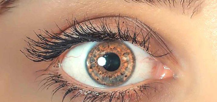 iridologie œil femme
