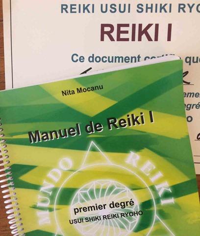 Manuel de reiki niveau 1 méthode énergétique