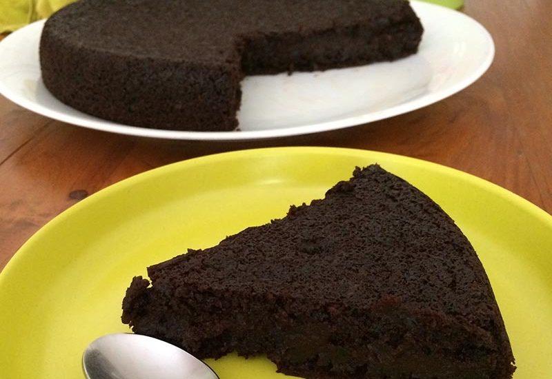 gateau chocolat courgette