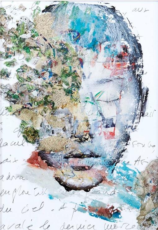 tableaux Bérénice Galimard portrait femme