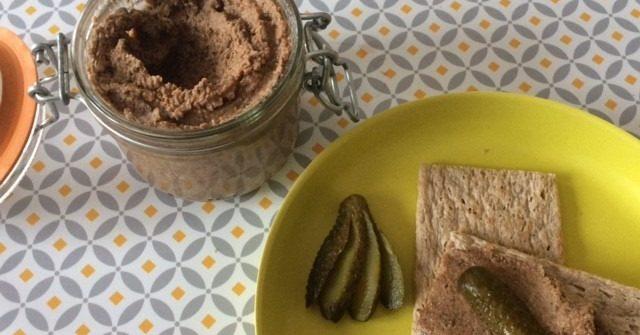 pate vegetal lentilles verte noix et champignons