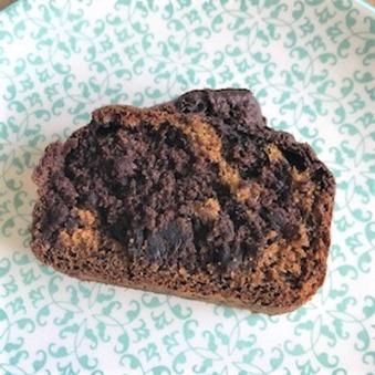 Banana bread marbré (2)